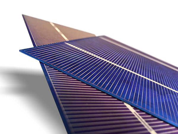 Metsolar - Cutting of solar cells